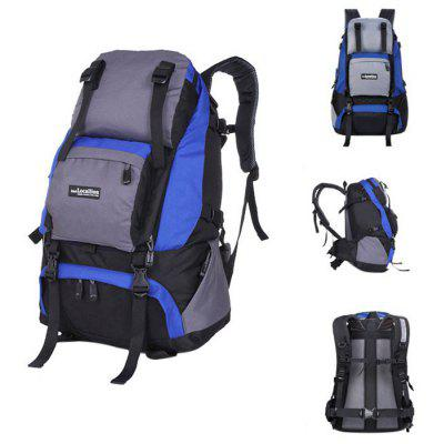 Buy SAPPHIRE BLUE LOCAL LION Unisex 40L Multi-purpose Climbing Backpack for $27.26 in GearBest store