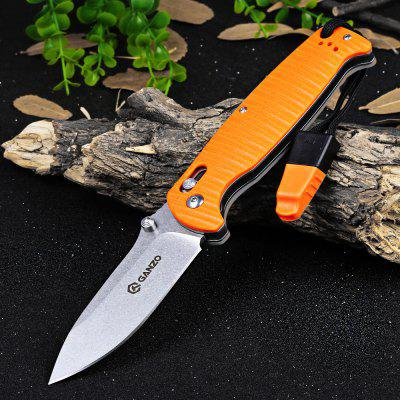 Buy ORANGE Ganzo G7412P-OR-WS Axis Lock Pocket Folding Blade Knife for $21.09 in GearBest store