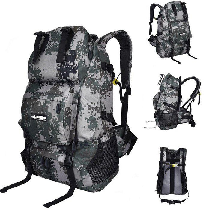 CAMOUFLAGE COLOR LOCAL LION Unisex 40L Multi-purpose Climbing Backpack