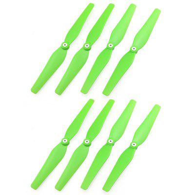 8Pcs CW + CCW Propeller Fitting for Syma X8C / X8W / X8G / X8HC / X8HW RC Quadcopter Accessary