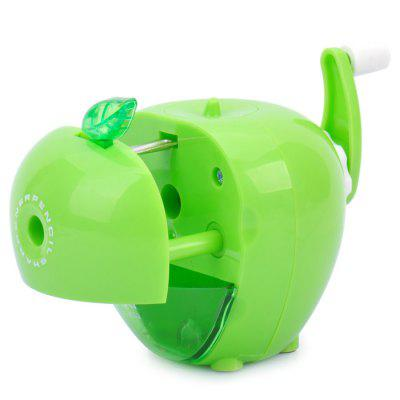 Deli Cute Apple Shape Manual Desktop Pencil SharpenerOther Supplies<br>Deli Cute Apple Shape Manual Desktop Pencil Sharpener<br><br>Available Color: Green<br>Brand: Deli, Deli<br>Material: ABS<br>Package Contents: 1 x Deli Cute Apple Style Manual Desktop Pencil Sharpener, 1 x Bilingual Manual in Chinese / English<br>Package size (L x W x H): 11.00 x 10.00 x 9.00 cm / 4.33 x 3.94 x 3.54 inches<br>Package weight: 0.165 kg<br>Product size (L x W x H): 9.20 x 8.30 x 7.90 cm / 3.62 x 3.27 x 3.11 inches<br>Product weight: 0.142 kg<br>Type: Manual Sharpeners