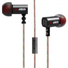 KZ-ED9 In-ear Super Bass HiFi Earphones with Microphone