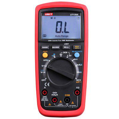 UNI-T UT139A LCD Digital Multimeter