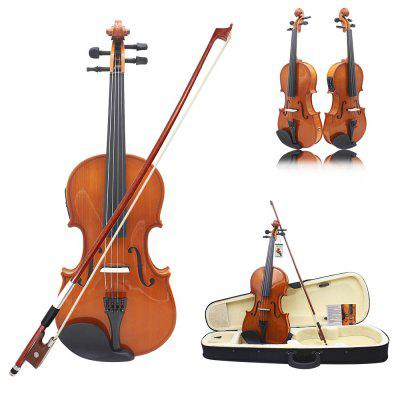 ASTONVILLA Electric Violin 4 / 4 Popular Instrument with Other Spare PartViolin<br>ASTONVILLA Electric Violin 4 / 4 Popular Instrument with Other Spare Part<br><br>Jean Head Material: Maple<br>Package Contents: 1 x Violin, 1 x Box, 1 x Bow, 1 x Connecting Cable, 1 x String, 1 x Shoulder Rest, 1 x Rosin, 1 x Cleaning Cloth<br>Package size: 79.00 x 26.00 x 12.00 cm / 31.10 x 10.24 x 4.72 inches<br>Package weight: 1.550 kg<br>Panel Material: Spruce<br>Product size: 60.00 x 21.00 x 4.30 cm / 23.62 x 8.27 x 1.69 inches<br>Pull the String Material: Other<br>Refers to the Material: Spruce, Maple, Ebony<br>Size: 4/4<br>The Back and Sides Material: Maple
