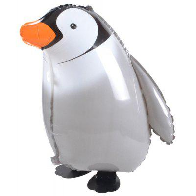 Penguin Inflating Foil Balloon Auto-Seal Party Birthday Decor Toy for Kid / Adult