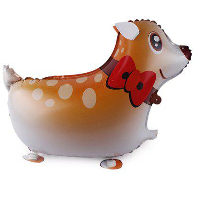 Deer Inflating Foil Balloon Auto-Seal Party Birthday Decor Toy for Kid / Adult