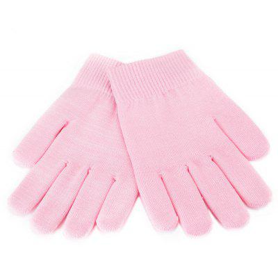 Buy PINK Pink Whiten Skin Moisturizing Treatment Gel SPA Gloves Hand Mask Care for $5.89 in GearBest store