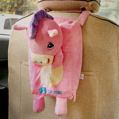 Buddy Zodiac Animal Home Car Tissue Box Pumping Paper Towel Auto Car Supply