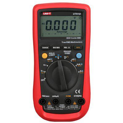UNI-T UT61D LCD Digital Multimeter