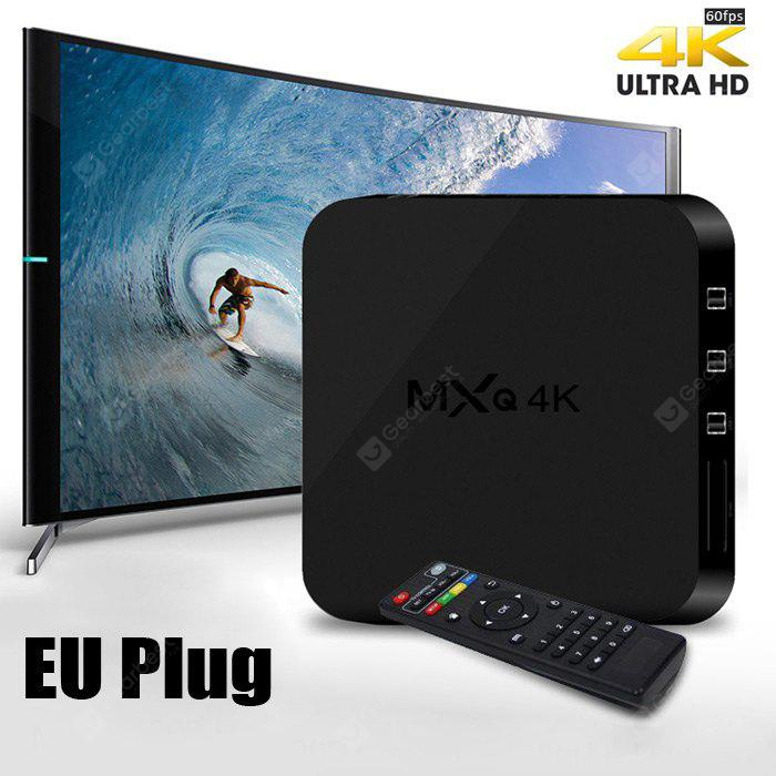meilleur prix mxq 4k tv box code promo gearbest banggood code promo cdiscount ou. Black Bedroom Furniture Sets. Home Design Ideas