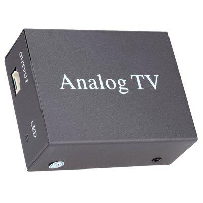 9224 Car Analog TV Receiver Box OSD Menu with Remote Control
