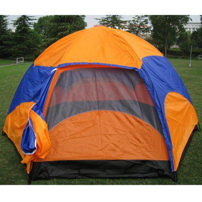 AOTU 8 Person Double-layer Hexagon Camping Tent
