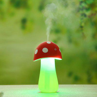 Portable Mushroom Shape Lamp Humidifier