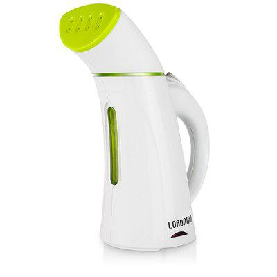 LORDNINO ST-0803 Hand-held Garment SteamerLaundry Appliances<br>LORDNINO ST-0803 Hand-held Garment Steamer<br><br>Brand: LORDNINO<br>Material: ABS, Electronic Components<br>Model: ST-0803<br>Package Contents: 1 x LORDNINO ST-0803 Handhold Garment Steamer, 1 x Remover, 1 x Brush<br>Package size (L x W x H): 12.00 x 19.00 x 25.00 cm / 4.72 x 7.48 x 9.84 inches<br>Package weight: 0.930 kg<br>Power (W): 600W / 100W<br>Product size (L x W x H): 9.30 x 16.20 x 21.90 cm / 3.66 x 6.38 x 8.62 inches<br>Product weight: 0.800 kg<br>Type: Handhold Garment Steamer<br>Voltage (V): 220V<br>Water Tank Capacity (ml): 150ML