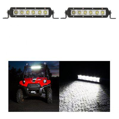 04A-30W-Flood 1 Pair 30W 3000lm SUV Auto Working Light