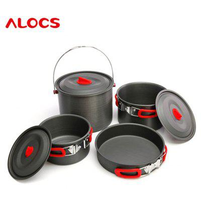 ALOCS CW-RT07 7pcs Cookware Set