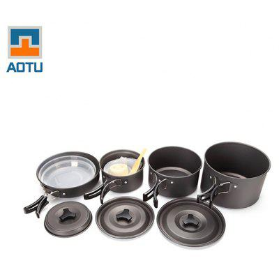 AOTU SY500 Seven-piece Cookware Set 4-5 People