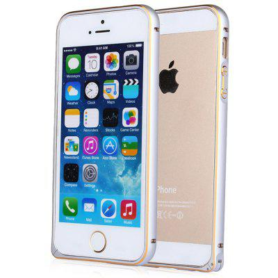 ASLING Protective Case for iPhone 5 / 5S / SE with Metal Bumper Sea Horse Buckle
