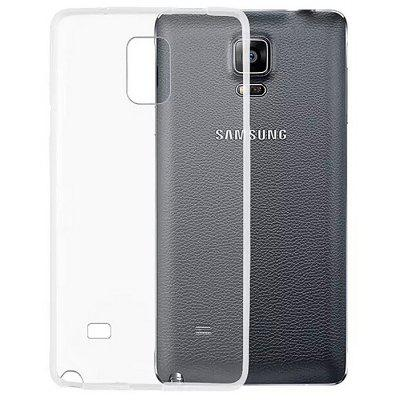 ASLING Protective Transparent Case for Samsung Note 4 TPU Material