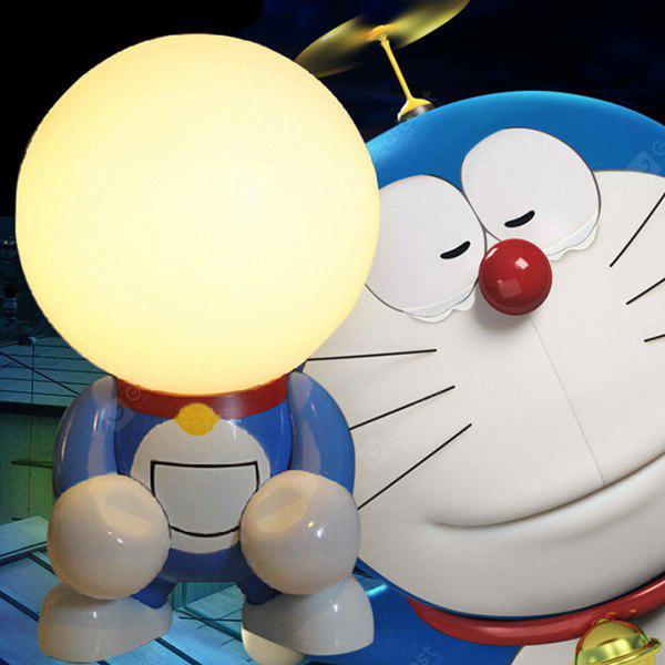 Buy Rechargeable Superhero Cartoon LED Night Light Desk Lamp DORAEMON WARM WHITE LIGHT