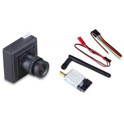 Spare TS351 5.8G 8CH 200mW Wireless AV Transmitter + CCD 700TVL Camera Set for RC Drone Aerial Photograph