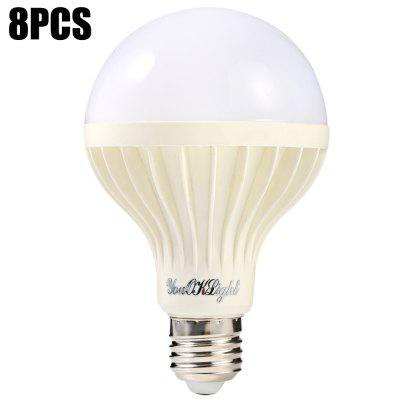 8pcs YouOKLight 12W E27 18 x SMD 5630 850Lm LED Bulb