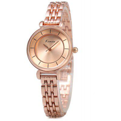 Kimio KW6028S Ladies Round Dial Quartz Watch Alloy Band