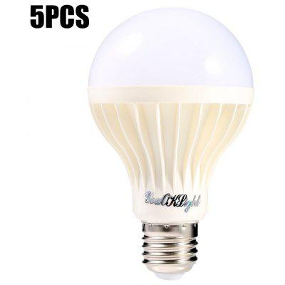 5pcs YouOKLight 9W E27 15 x SMD 5630 600Lm LED Bulb