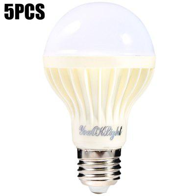5PCS YouOKLight 7W E27 SMD 5630 550Lm LED Bulb
