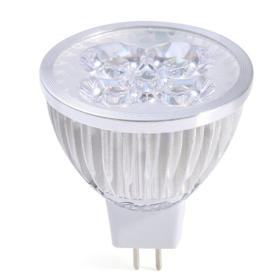 5 x YouOKLight 4W MR16 400LM Dimming LED Spot BulbSpot Bulbs<br>5 x YouOKLight 4W MR16 400LM Dimming LED Spot Bulb<br><br>Angle: 60 degree<br>Available Light Color: Warm White,White<br>Brand: YouOKLight<br>CCT/Wavelength: 3000K,6000K<br>Emitter Types: High Power LED<br>Features: Low Power Consumption, Long Life Expectancy, Dimming<br>Function: Studio and Exhibition Lighting, Home Lighting, Commercial Lighting<br>Holder: MR16<br>Lifespan: 50000h<br>Luminous Flux: 400LM<br>Output Power: 4W<br>Package Contents: 5 x YouOKLight MR16 LED Spot Bulb<br>Package size (L x W x H): 6.50 x 15.00 x 10.00 cm / 2.56 x 5.91 x 3.94 inches<br>Package weight: 0.225 kg<br>Product size (L x W x H): 5.00 x 5.00 x 5.00 cm / 1.97 x 1.97 x 1.97 inches<br>Product weight: 0.032 kg<br>Sheathing Material: Aluminum, PC<br>Total Emitters: 4<br>Type: Spot Bulbs<br>Voltage (V): DC 12V