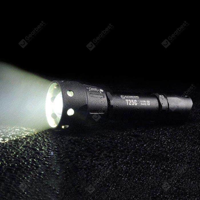 Sunwayman T25C Cree U3 880Lm Zooming LED Flashlight Hollow-out Design