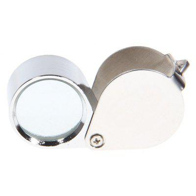 Folding 30x21mm Magnifier Pocket Loupe for Jeweler Appraisal