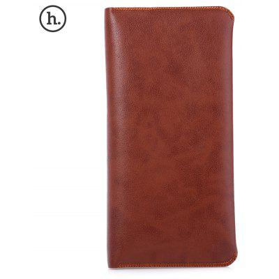 HOCO Genuine Leather Wallet Phone Cover