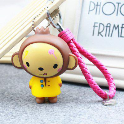 Creative Car Cartoon Pattern Key Chain Decoration