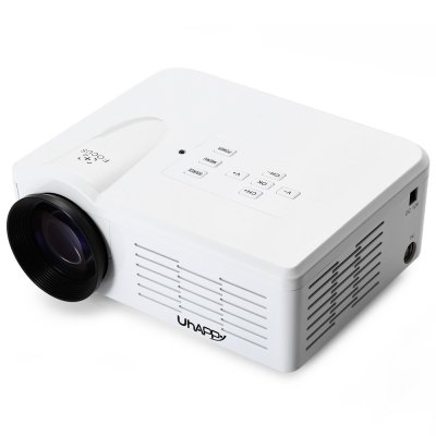 UhAPPy BL - 35 Mini Portable Full HD LED Projector Video Home Cinema