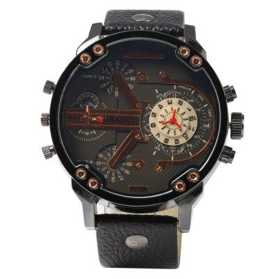 JUBAOLI 1078 Date Men Quartz Watch Genuine Leather BandMens Watches<br>JUBAOLI 1078 Date Men Quartz Watch Genuine Leather Band<br><br>Available Color: Black,Brown,Orange<br>Band material: Genuine Leather<br>Brand: Jubaoli<br>Case color: Black<br>Case material: Stainless Steel<br>Clasp type: Pin buckle<br>Display type: Analog<br>Movement type: Quartz watch<br>Package Contents: 1 x Male Watch, 1 x Male Watch<br>Package size (L x W x H): 28.00 x 7.00 x 2.40 cm / 11.02 x 2.76 x 0.94 inches<br>Package weight: 0.115 kg<br>Product size (L x W x H): 27.00 x 6.00 x 1.40 cm / 10.63 x 2.36 x 0.55 inches<br>Product weight: 0.085 kg<br>Shape of the dial: Round<br>Special features: Decorating small sub-dials, Date<br>The band width: 2.4 cm / 0.94 inches<br>The dial diameter: 5.2 cm / 2.05 inches<br>The dial thickness: 1.4 cm / 0.55 inches<br>Watch style: Fashion<br>Watches categories: Male table<br>Wearable length: 20.0 - 24.0 cm / 7.87 - 9.45 inches