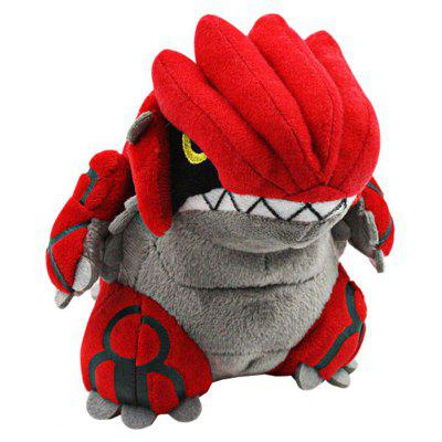 Manchuang Pokemon Groudon Plush Toy 13cm Stuffed Doll Home Decoration Great Gift