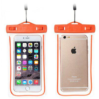Practical IPX8 Waterproof Sealmed Bag for Mobile Phones 6.0 inch