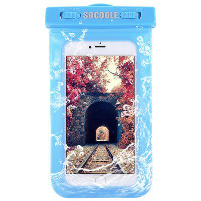 SOCOOLE Practical Regular Waterproof Bag for Mobile Phones