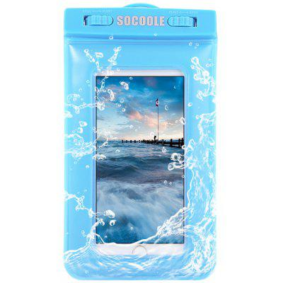 SOCOOLE Practical Sponge Floating Waterproof Bag for Mobile Phones