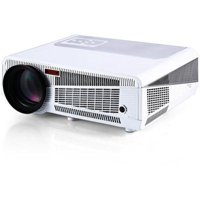 HTP LED - 86+ 3600 Lumens High Power Android WiFi LED Projector with Remote Control
