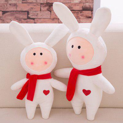 Rabbit Tuzki Style Plush Toy Home Office DecorStuffed Cartoon Toys<br>Rabbit Tuzki Style Plush Toy Home Office Decor<br><br>Features: Cartoon<br>Materials: Plush, PP Cotton<br>Package Contents: 1 x Plush Doll<br>Package size: 45.00 x 25.00 x 10.00 cm / 17.72 x 9.84 x 3.94 inches<br>Package weight: 0.420 kg<br>Series: Fashion<br>Theme: Movie and TV