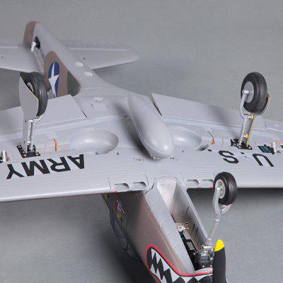FMS P - 39 Hells Bells 980mm Wingspan EPO Glider Aeroplane PNP Without ESCRC Airplanes<br>FMS P - 39 Hells Bells 980mm Wingspan EPO Glider Aeroplane PNP Without ESC<br><br>Brand: FMS<br>Channel: 6-Channels<br>Flying Time: 4~5mins<br>Function: Forward, Landing Bar Direction Control, Turn left/right, Fold / Open Landing Bar, Up/down<br>Material: Electronic Components, EPO<br>Package Contents: 1 x Frame Kit, 1 x Landing Bar Set, 1 x 3648 Motor, 2 x 9g Landing Servo, 5 x 9g Metal Servo<br>Package size (L x W x H): 105.00 x 32.00 x 21.00 cm / 41.34 x 12.6 x 8.27 inches<br>Package weight: 2.170 kg<br>Product size (L x W x H): 91.00 x 98.00 x 27.00 cm / 35.83 x 38.58 x 10.63 inches<br>Product weight: 1.200 kg<br>Remote Control: Radio Control