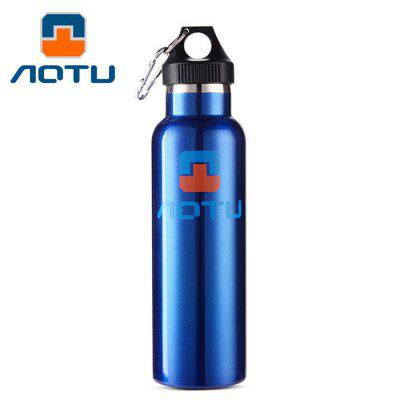AOTU AT6646 600ml Vacuum Insulated Water Bottle