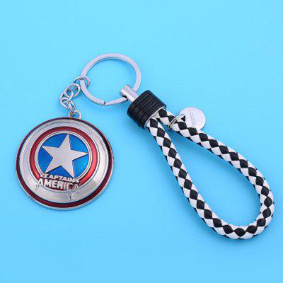 Star Pattern Design Car Decoration Creative Key Chain