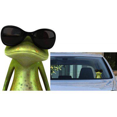 3D Frog Pattern Car Sticker