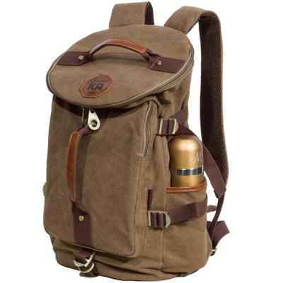 KAUKKO FS224 23L Casual Style Unisex Canvas BackpackBackpacks<br>KAUKKO FS224 23L Casual Style Unisex Canvas Backpack<br><br>Bag Capacity: 23L<br>Brand: KAUKKO<br>Capacity: 21 - 30L<br>Color: Black,Blue,Dark Khaki<br>For: Climbing, Cycling, Casual, Other, Traveling, Hiking<br>Material: Cotton, Canvas<br>Package Contents: 1 x KAUKKO FS224 23L Backpack<br>Package size (L x W x H): 29.00 x 6.00 x 45.00 cm / 11.42 x 2.36 x 17.72 inches<br>Package weight: 1.130 kg<br>Product size (L x W x H): 27.00 x 20.00 x 43.00 cm / 10.63 x 7.87 x 16.93 inches<br>Product weight: 0.980 kg<br>Type: Backpack
