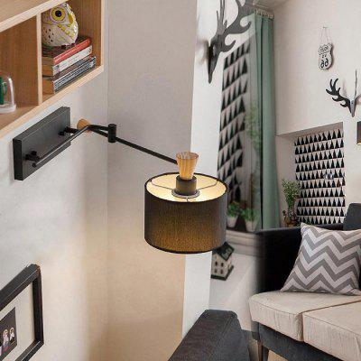 Swing Arm LED Wall Lamp Bedside Reading Light