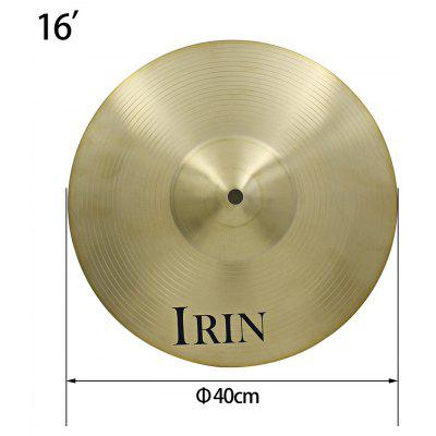 IRIN 16 inch Crash Cymbal Drum Set Spare Part Brass Cymbal