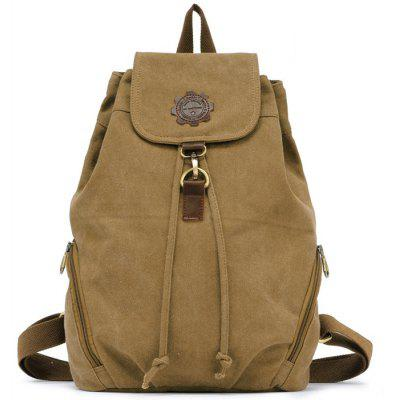 Buy APRICOT KAUKKO FJ19 13L Retro Style Women Canvas Backpack for $22.25 in GearBest store